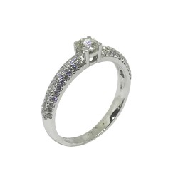 Gold Diamond Ring 0.73 CT. T.W. Model Number : 629