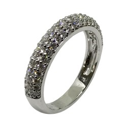 Gold Diamond Ring 0.8 CT. T.W. Model Number : 2940