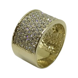 Gold Diamond Ring 1.72 CT. T.W. Model Number : 2944