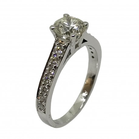 Gold Diamond Ring 1.42 CT. T.W. Model Number : 2952