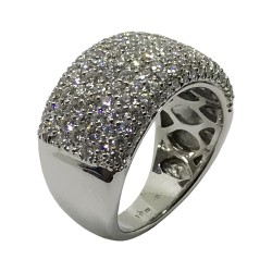 Gold Diamond Ring 2.1 CT. T.W. Model Number : 2962