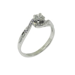 Gold Diamond Ring 0.42 CT. T.W. Model Number : 668