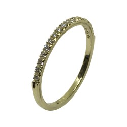 Gold Diamond Ring 0.17 CT. T.W. Model Number : 3011