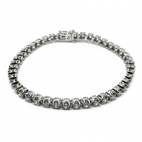 Gold Diamond Bracelet 3.62 CT. T.W. Model Number : 3034