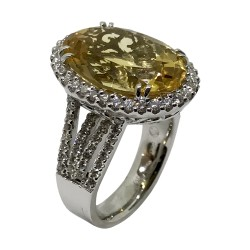 Gold Diamond Ring 1.12 CT. T.W. Model Number : 3063