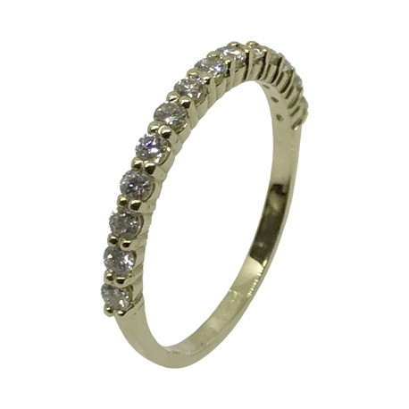 Gold Diamond Ring 0.38 CT. T.W. Model Number : 3089
