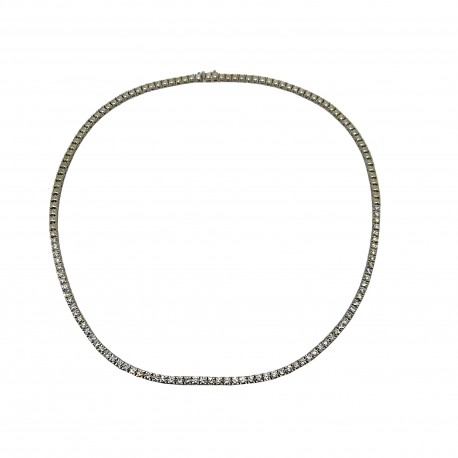 Gold Diamond Pendant 4.5 CT. T.W. Model Number : 3124