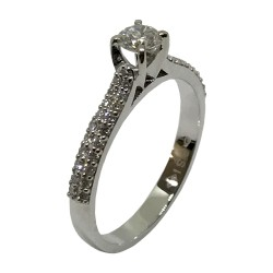 Gold Diamond Ring 0.48 CT. T.W. Model Number : 3147