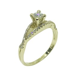 Gold Diamond Ring 0.43 CT. T.W. Model Number : 880