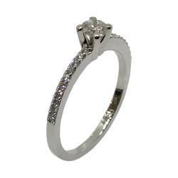 Gold Diamond Ring 0.36 CT. T.W. Model Number : 3171