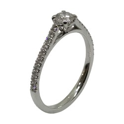 Gold Diamond Ring 0.42 CT. T.W. Model Number : 3174