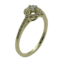 Gold Diamond Ring 0.32 CT. T.W. Model Number : 3261