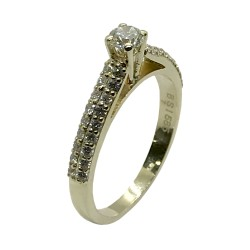 Gold Diamond Ring 0.55 CT. T.W. Model Number : 3367