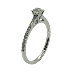 Gold Diamond Ring 0.49 CT. T.W. Model Number : 3368