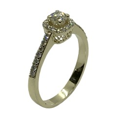 Gold Diamond Ring 0.5 CT. T.W. Model Number : 3371