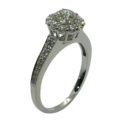 Gold Diamond Ring 0.85 CT. T.W. Model Number : 3372