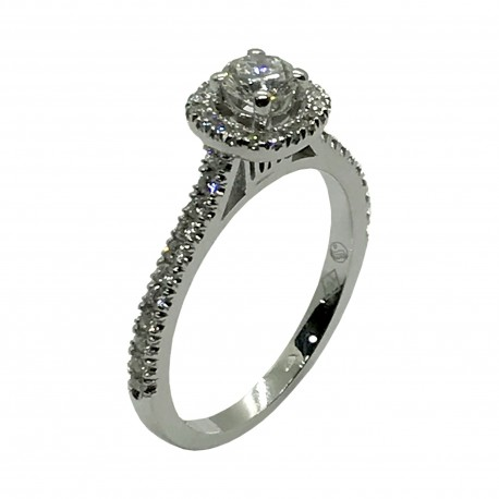 Gold Diamond Ring 0.7 CT. T.W. Model Number : 3373