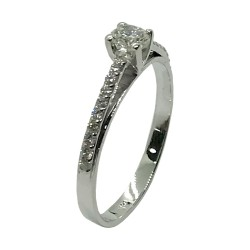 Gold Diamond Ring 0.34 CT. T.W. Model Number : 3430