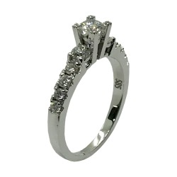 Gold Diamond Ring 0.82 CT. T.W. Model Number : 3534