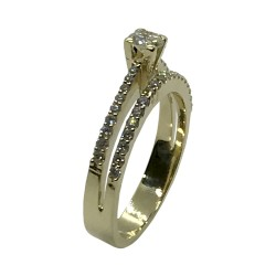 Gold Diamond Ring 0.57 CT. T.W. Model Number : 3573