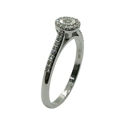 Gold Diamond Ring 0.22 CT. T.W. Model Number : 3711