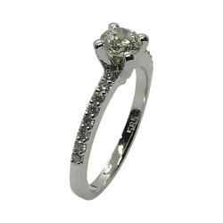 Gold Diamond Ring 0.7 CT. T.W. Model Number : 3722