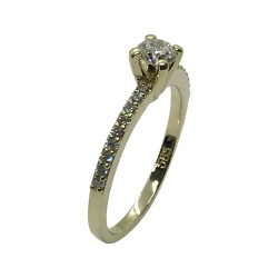 Gold Diamond Ring 0.45 CT. T.W. Model Number : 3724