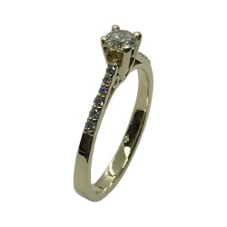 Gold Diamond Ring 0.44 CT. T.W. Model Number : 3856