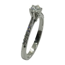 Gold Diamond Ring 0.33 CT. T.W. Model Number : 3994