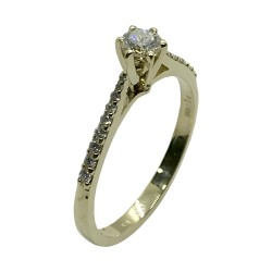 Gold Diamond Ring 0.33 CT. T.W. Model Number : 3997