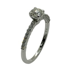 Gold Diamond Ring 0.55 CT. T.W. Model Number : 3998