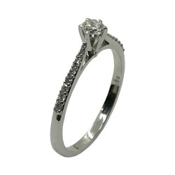 Gold Diamond Ring 0.26 CT. T.W. Model Number : 4000