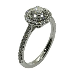 Gold Diamond Ring 0.69 CT. T.W. Model Number : 4003