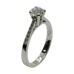 Gold Diamond Ring 0.71 CT. T.W. Model Number : 4005
