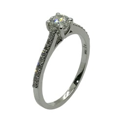 Gold Diamond Ring 0.47 CT. T.W. Model Number : 4010