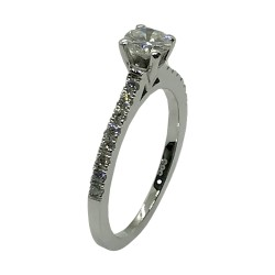 Gold Diamond Ring 0.62 CT. T.W. Model Number : 4046