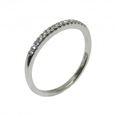 Gold Diamond Ring 0.12 CT. T.W. Model Number : 1291