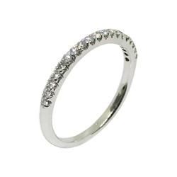 Gold Diamond Ring 0.16 CT. T.W. Model Number : 1293
