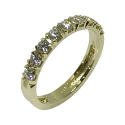 Gold Diamond Ring 0.61 CT. T.W. Model Number : 1367