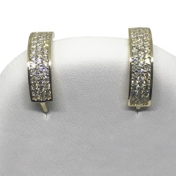 Gold Diamond EarRings 0.45 CT. T.W. Model Number : 1338