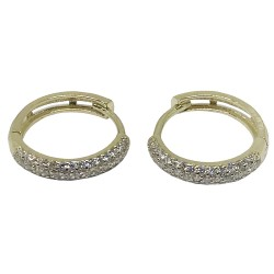 Gold Diamond EarRings 0.65 CT. T.W. Model Number : 1340