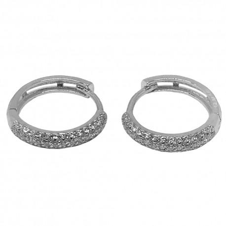 Gold Diamond EarRings 0.65 CT. T.W. Model Number : 1342