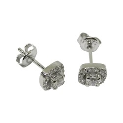 Gold Diamond EarRings 0.47 CT. T.W. Model Number : 1373