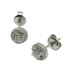 Gold Diamond EarRings 0.47 CT. T.W. Model Number : 1375