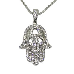 Gold Diamond Pendant 0.58 CT. T.W. Model Number : 1305