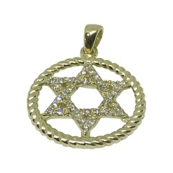 Gold Diamond Pendant 0.27 CT. T.W. Model Number : 1312