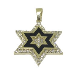 Gold Diamond Pendant 0.37 CT. T.W. Model Number : 1316