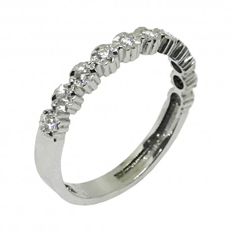 Gold Diamond Ring 0.2 CT. T.W. Model Number : 1120