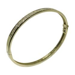 Gold Diamond Bracelet 0.95 CT. T.W. Model Number : 1493