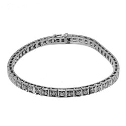 Gold Diamond Bracelet 2.07 CT. T.W. Model Number : 1429